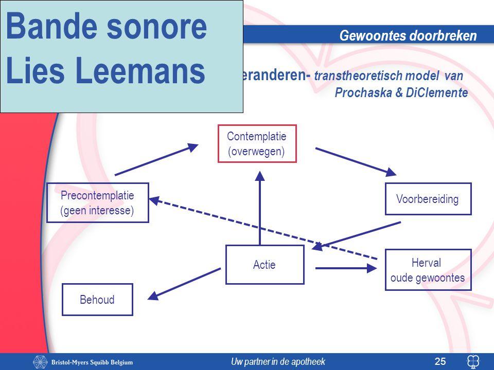 Bande sonore Lies Leemans