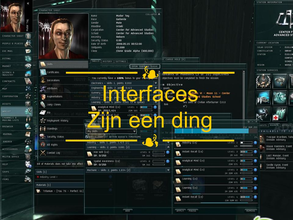 Interfaces Zijn een ding