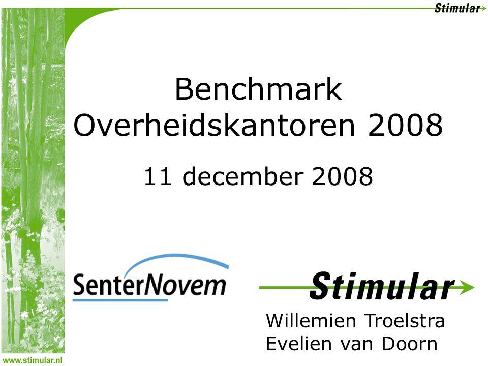Benchmark Overheidskantoren 2008