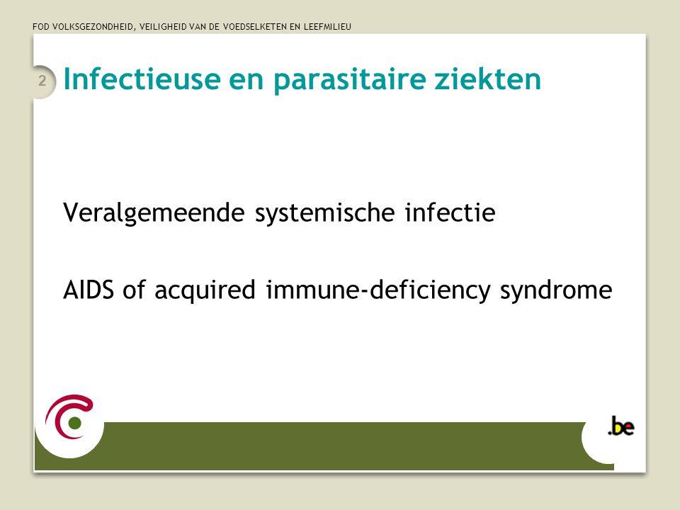 Infectieuse en parasitaire ziekten