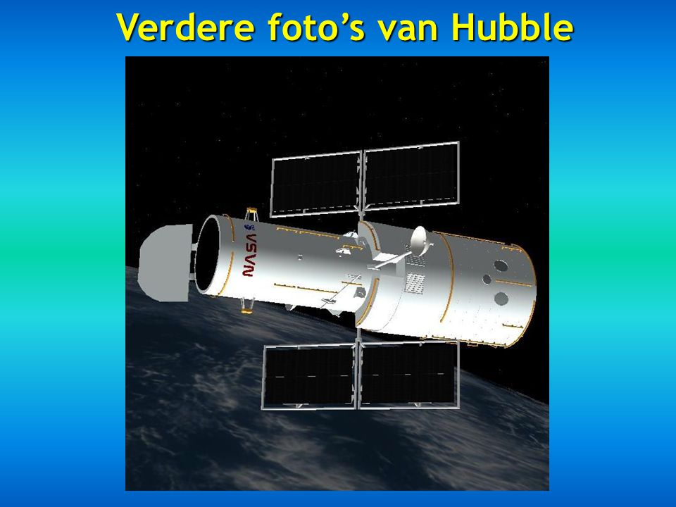 Verdere foto's van Hubble