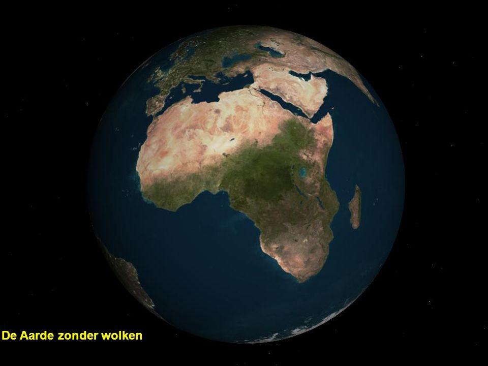 De Aarde zonder wolken