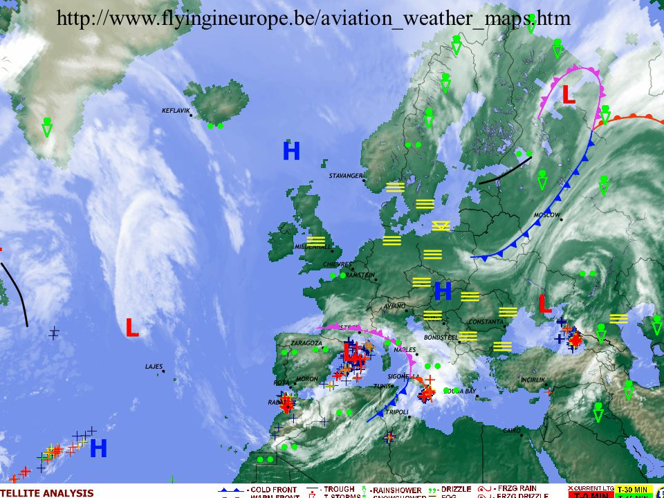 http://www.flyingineurope.be/aviation_weather_maps.htm