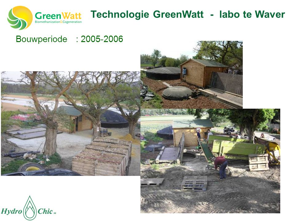 Technologie GreenWatt - labo te Waver