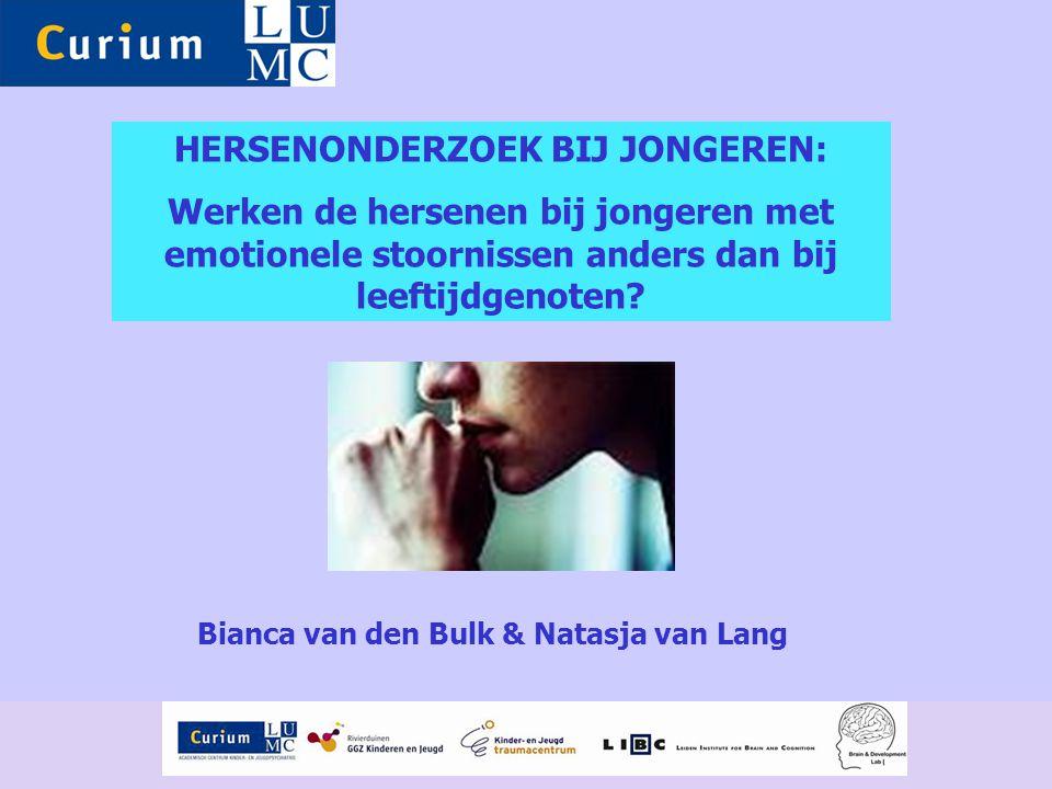 HERSENONDERZOEK BIJ JONGEREN: Bianca van den Bulk & Natasja van Lang