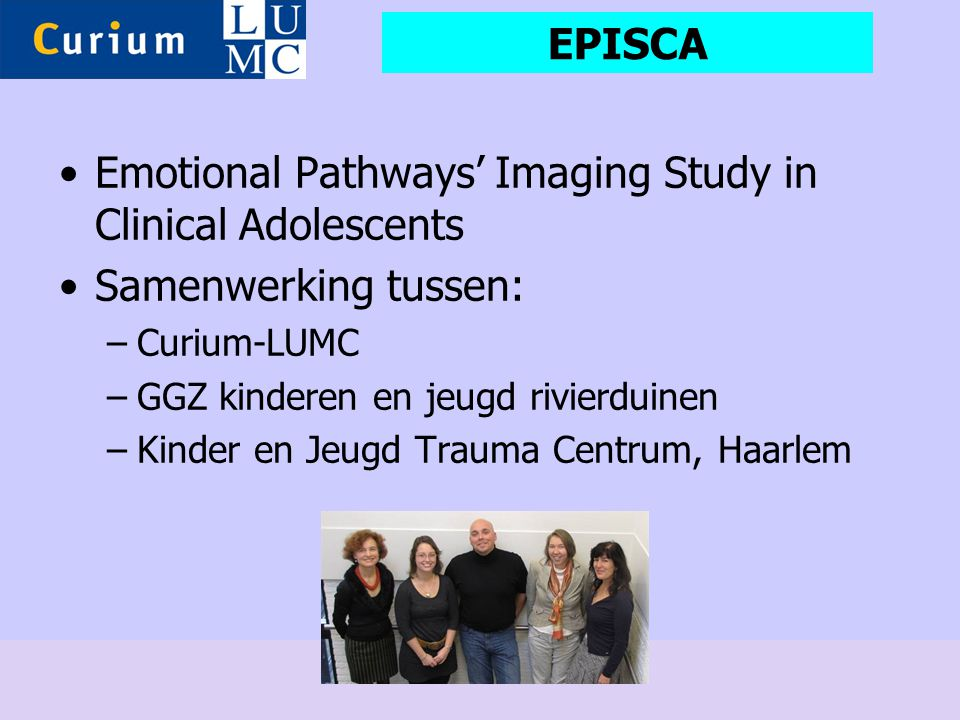 Emotional Pathways' Imaging Study in Clinical Adolescents