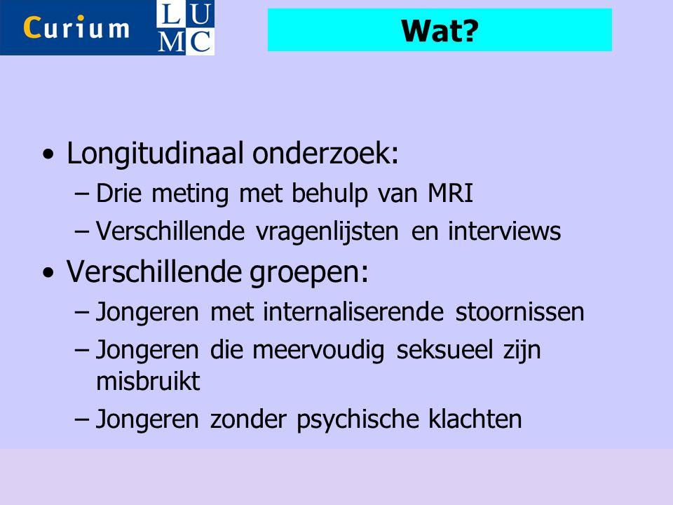 Longitudinaal onderzoek: