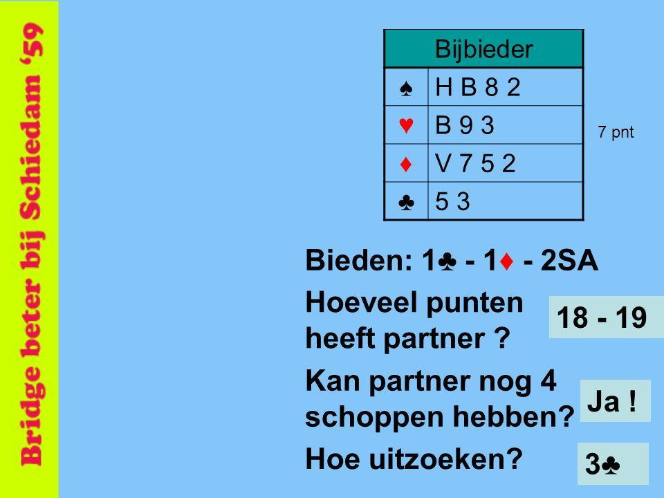 Hoeveel punten heeft partner 18 - 19