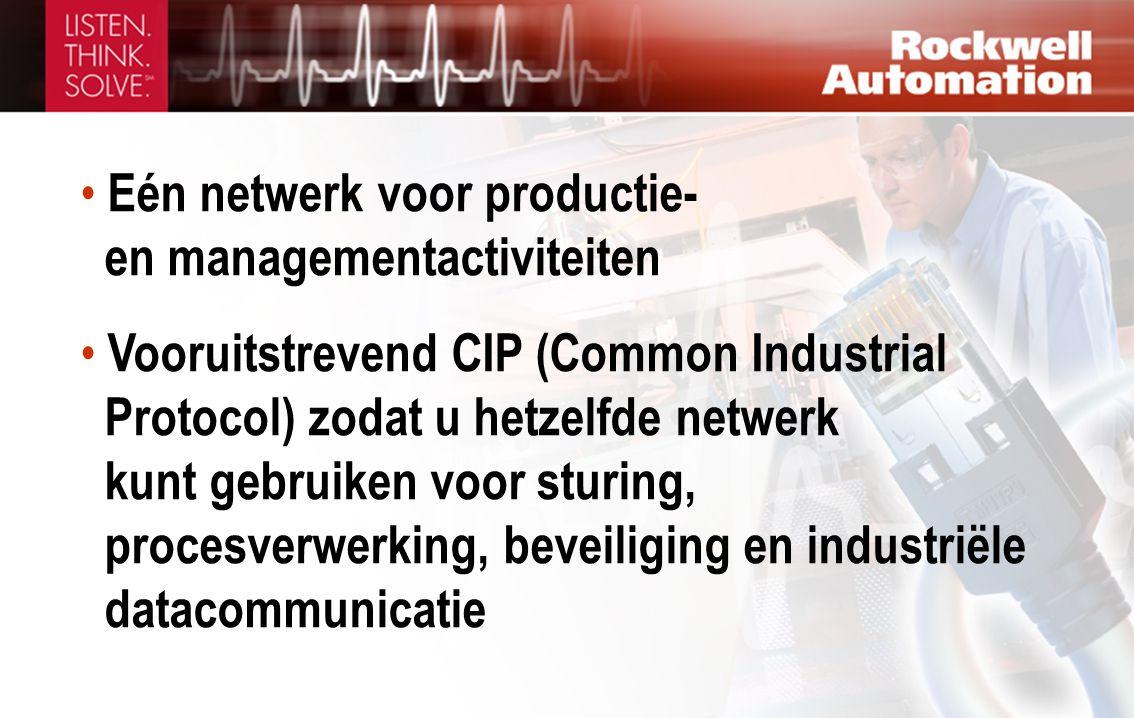 Eén netwerk voor productie- en managementactiviteiten
