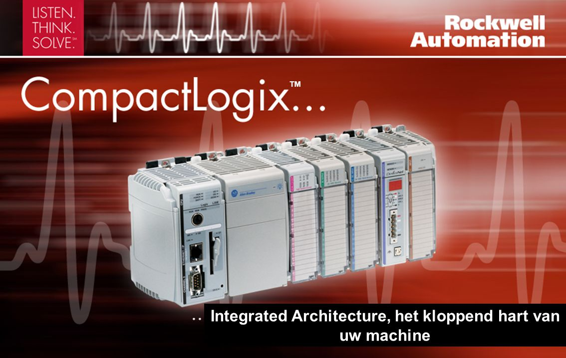Integrated Architecture, het kloppend hart van uw machine