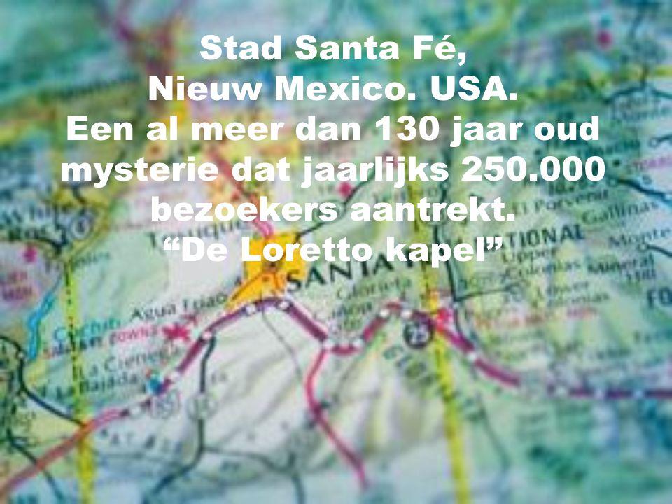 Stad Santa Fé, Nieuw Mexico. USA