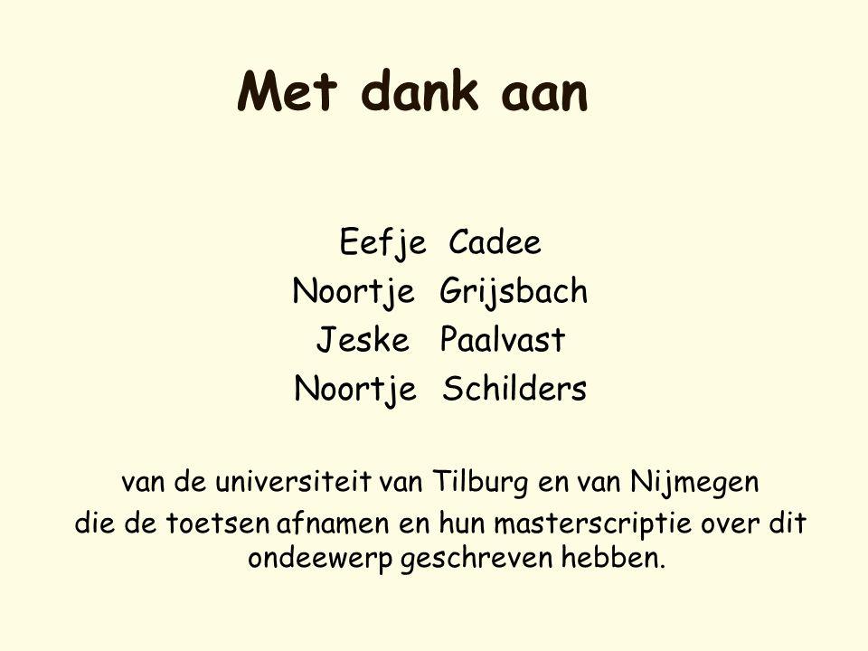 van de universiteit van Tilburg en van Nijmegen