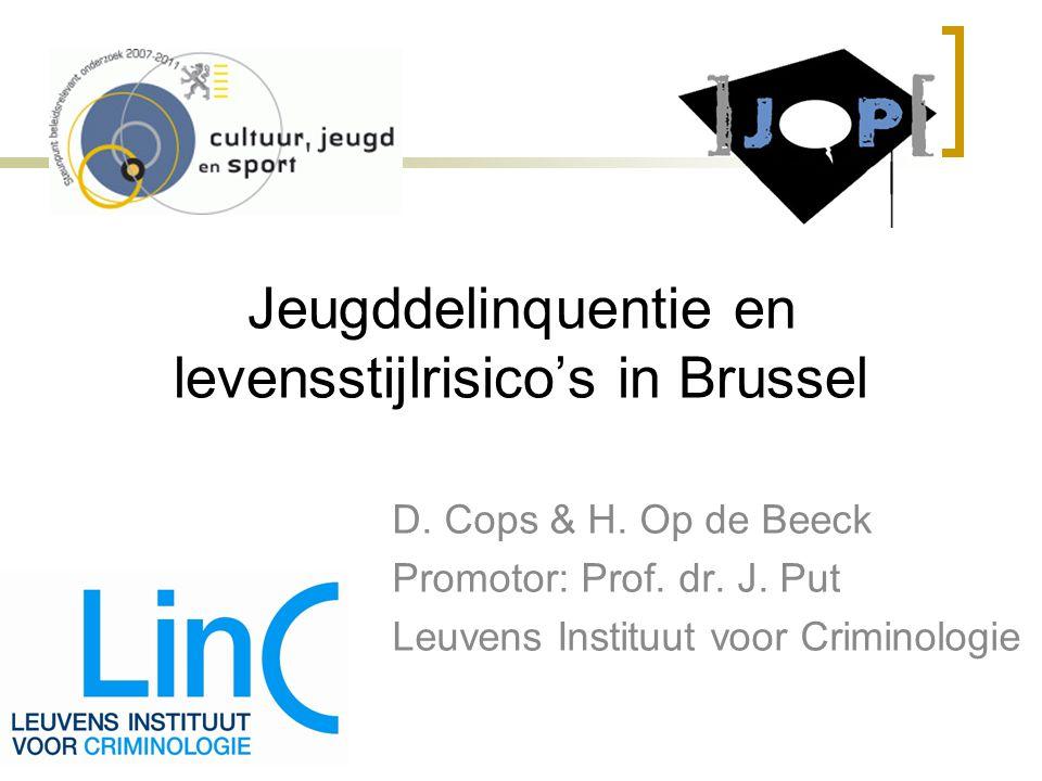 Jeugddelinquentie en levensstijlrisico's in Brussel