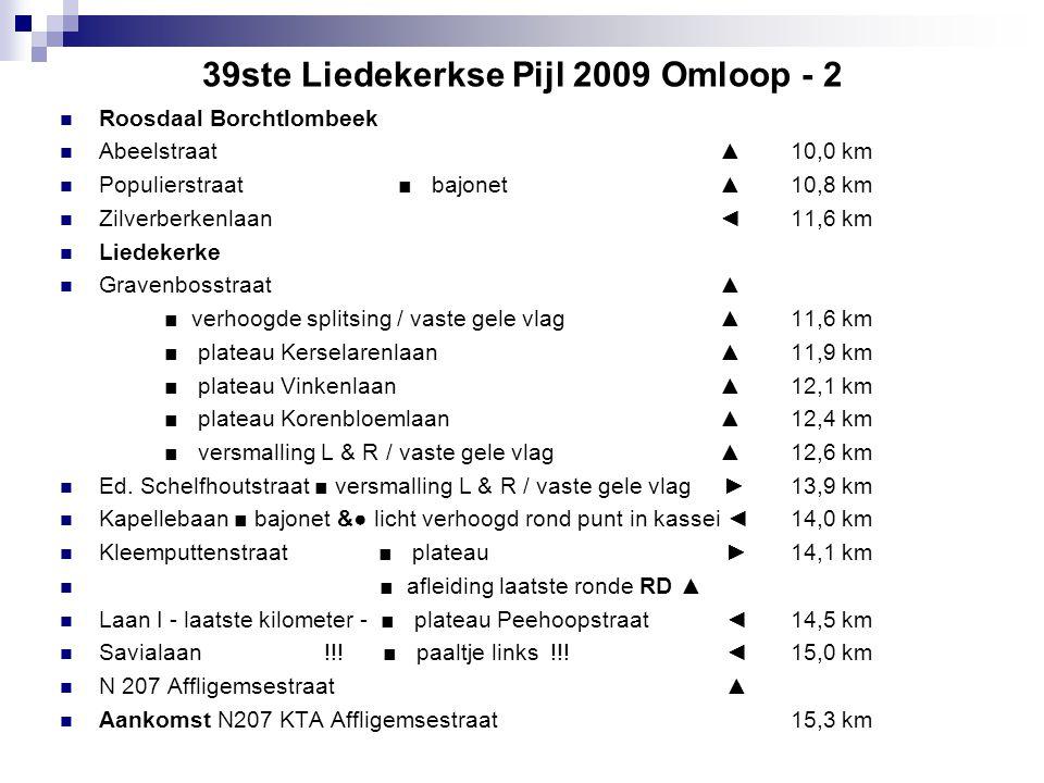 39ste Liedekerkse Pijl 2009 Omloop - 2