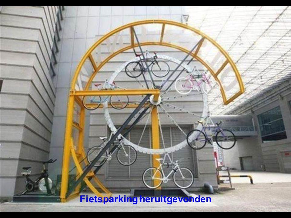 Fietsparking heruitgevonden