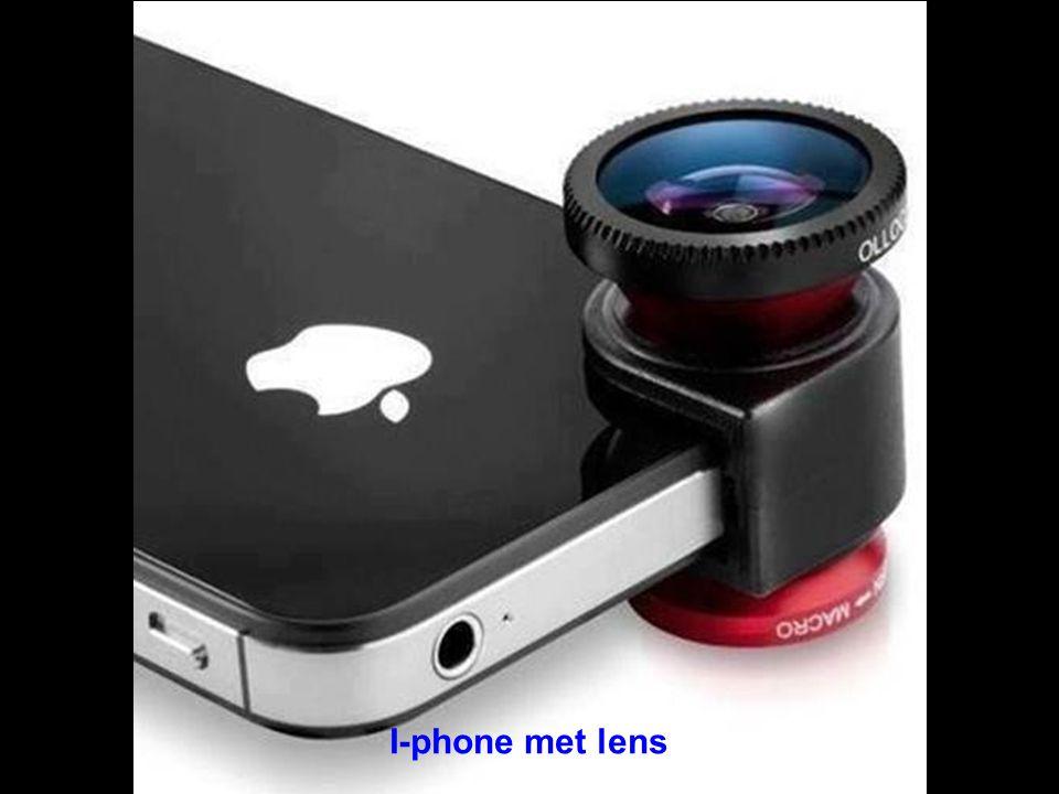 I-phone met lens