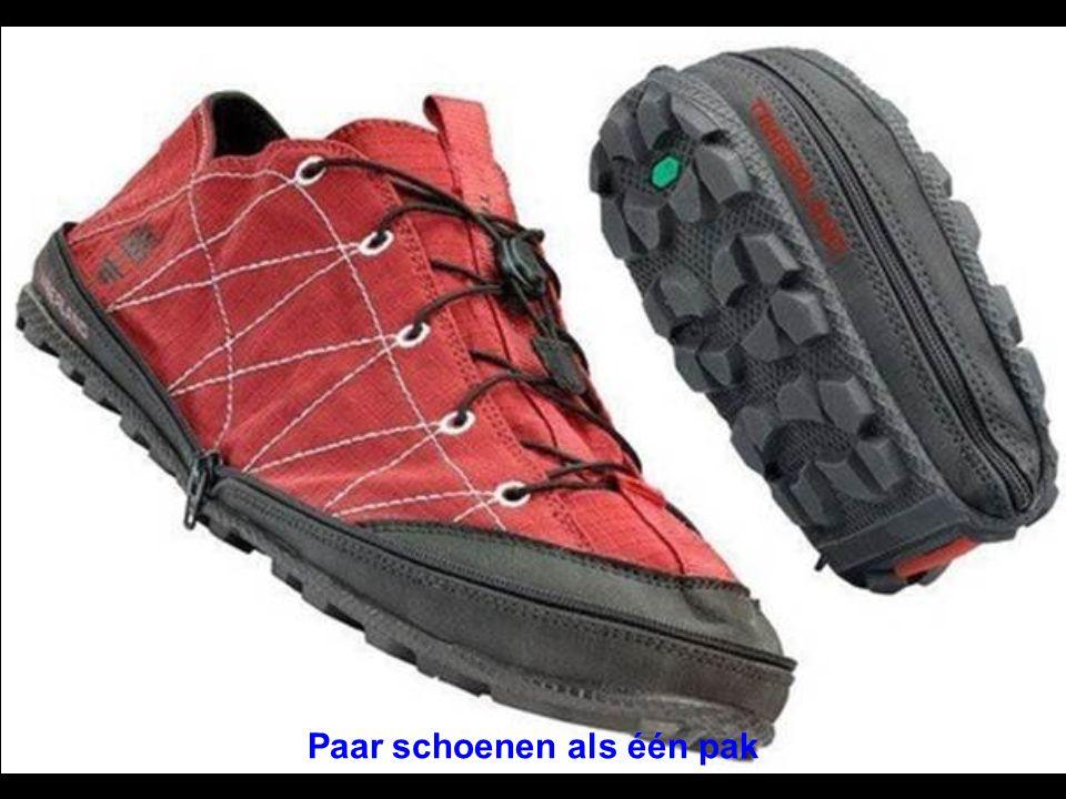 Paar schoenen als één pak