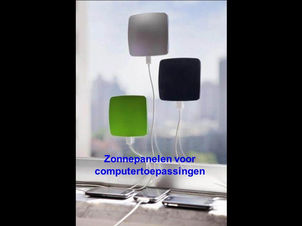 Zonnepanelen voor computertoepassingen