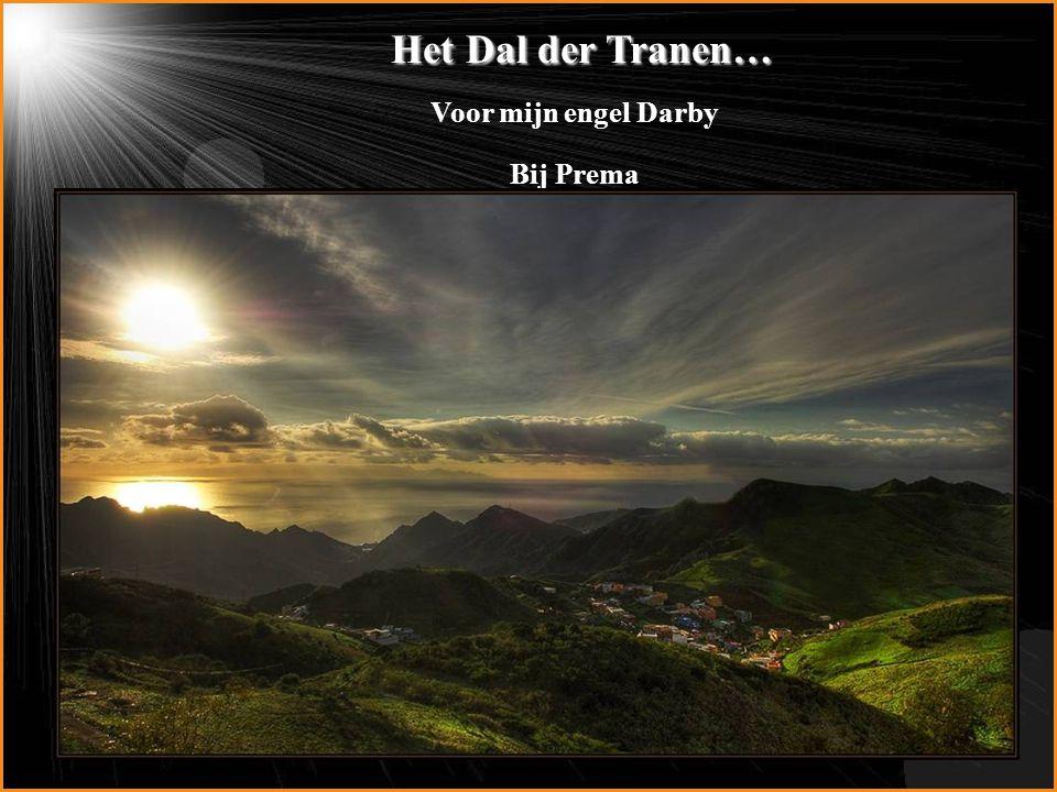Het Dal der Tranen… Voor mijn engel Darby Bij Prema
