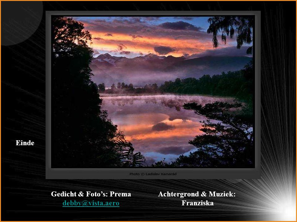 Gedicht & Foto's: Prema