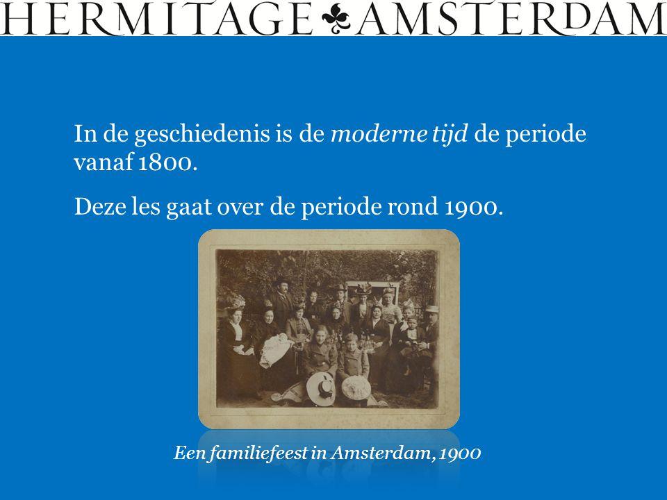 In de geschiedenis is de moderne tijd de periode vanaf 1800.