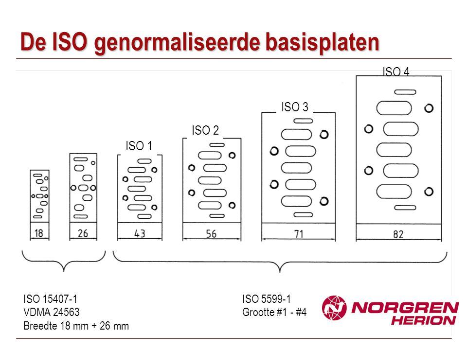 De ISO genormaliseerde basisplaten