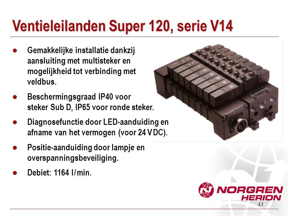 Ventieleilanden Super 120, serie V14