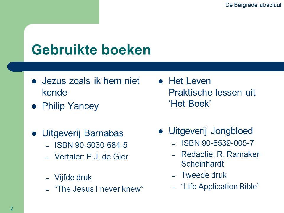 Gebruikte boeken Jezus zoals ik hem niet kende Philip Yancey
