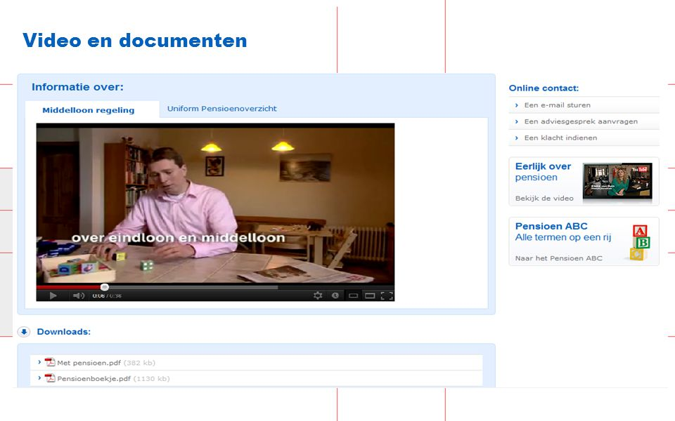 Video en documenten