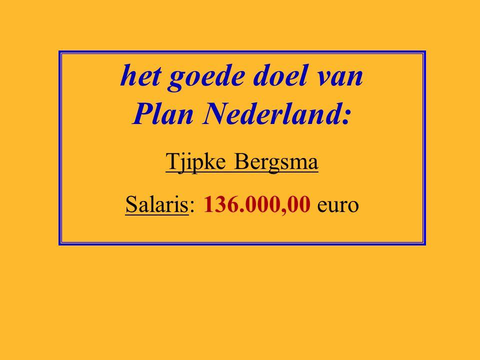 het goede doel van Plan Nederland: