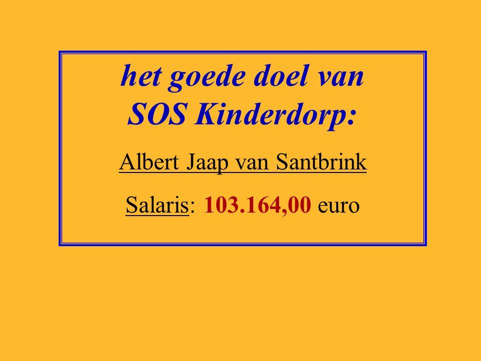 het goede doel van SOS Kinderdorp: