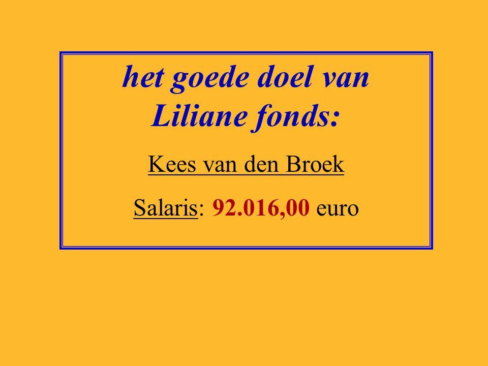 het goede doel van Liliane fonds: