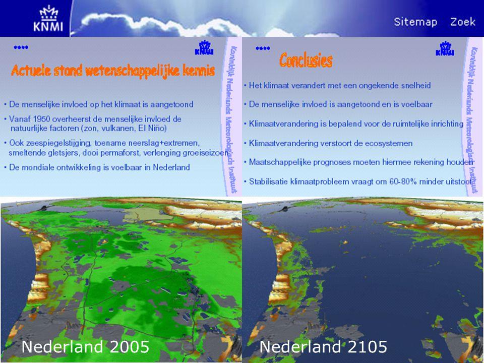 Nederland 2005 Nederland 2105