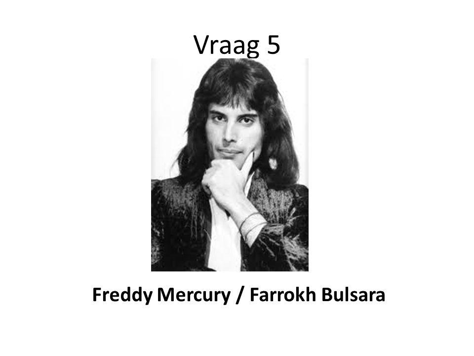 Freddy Mercury / Farrokh Bulsara