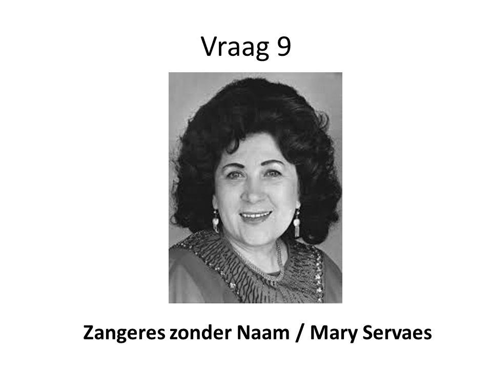Zangeres zonder Naam / Mary Servaes