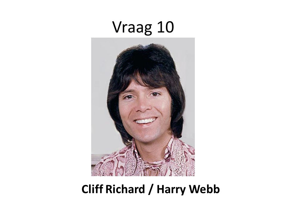 Cliff Richard / Harry Webb