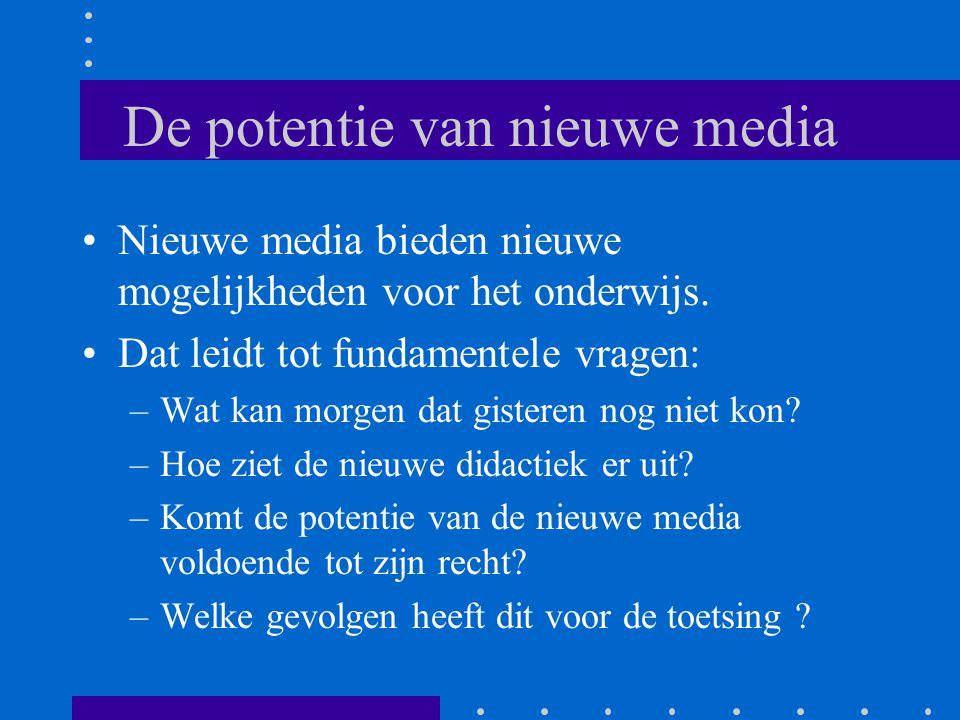 De potentie van nieuwe media