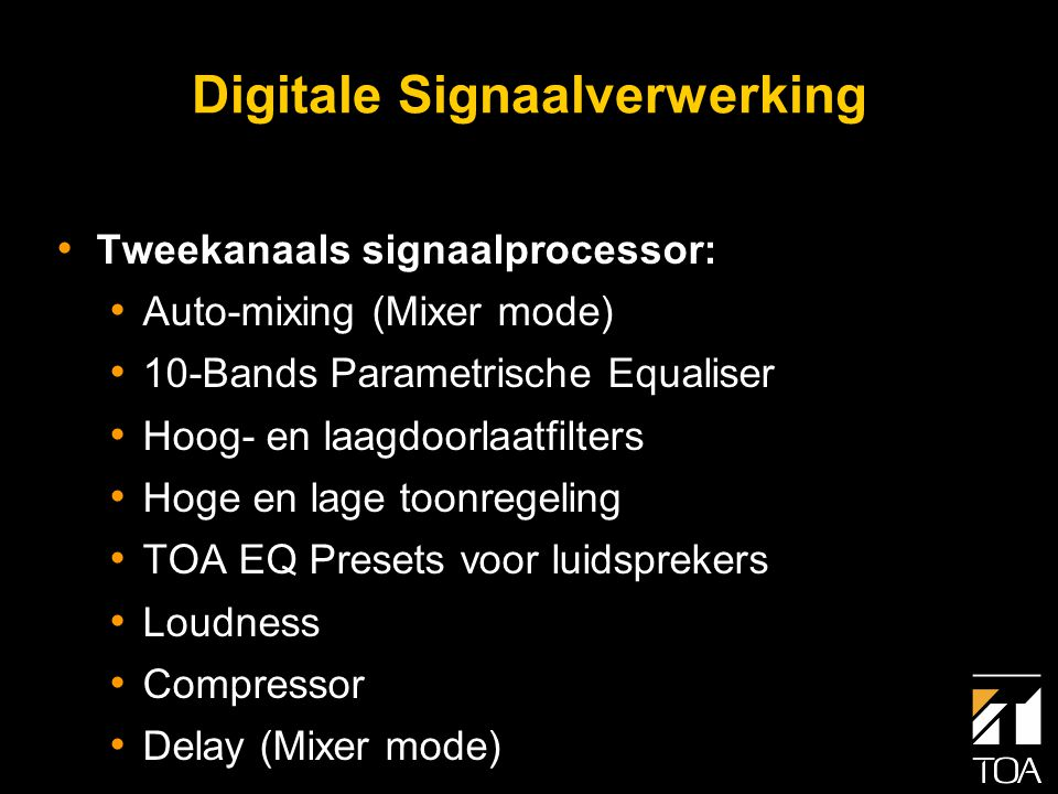 Digitale Signaalverwerking