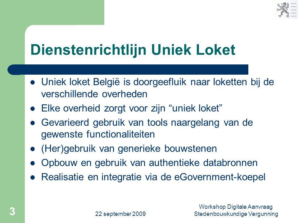 Dienstenrichtlijn Uniek Loket