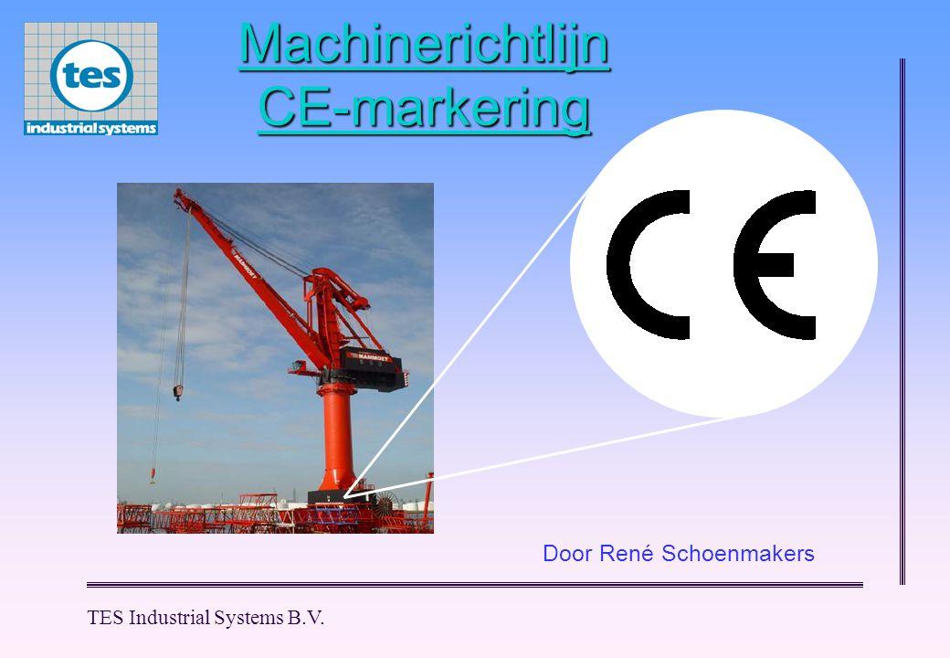 Machinerichtlijn CE-markering