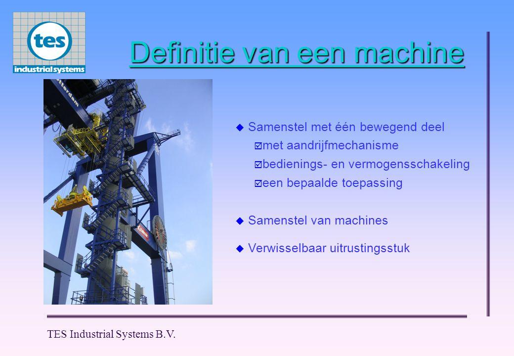 Definitie van een machine