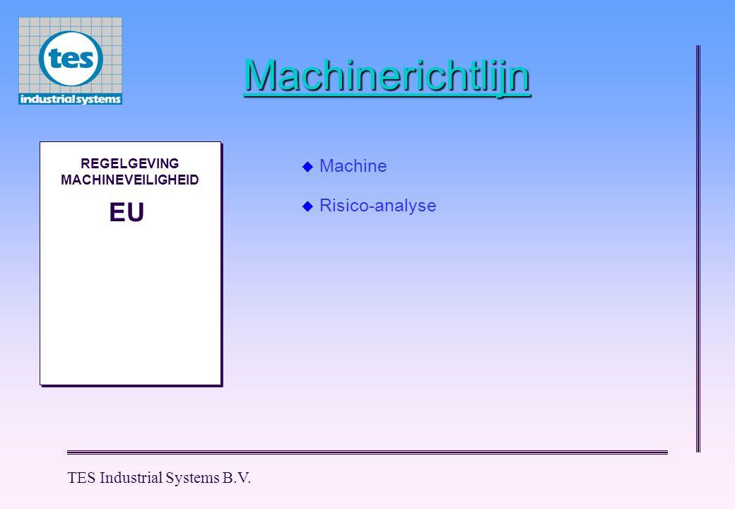 REGELGEVING MACHINEVEILIGHEID