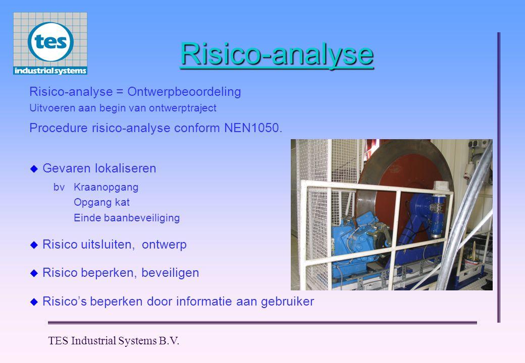 Risico-analyse Risico-analyse = Ontwerpbeoordeling