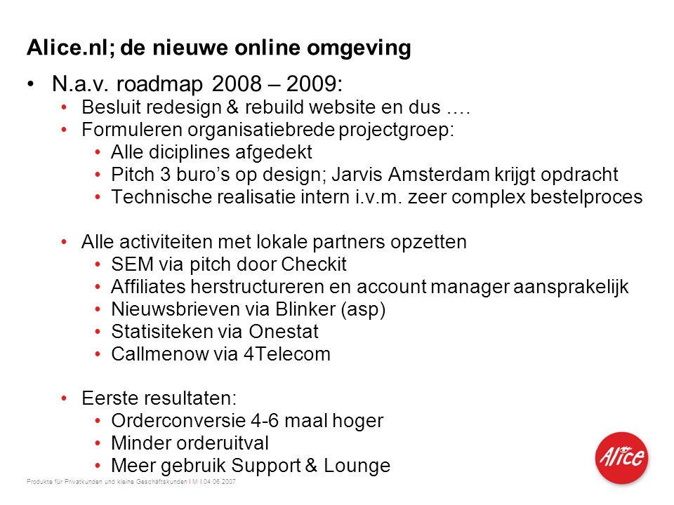 Alice.nl; de nieuwe online omgeving