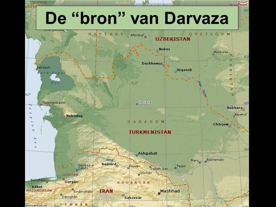 De bron van Darvaza