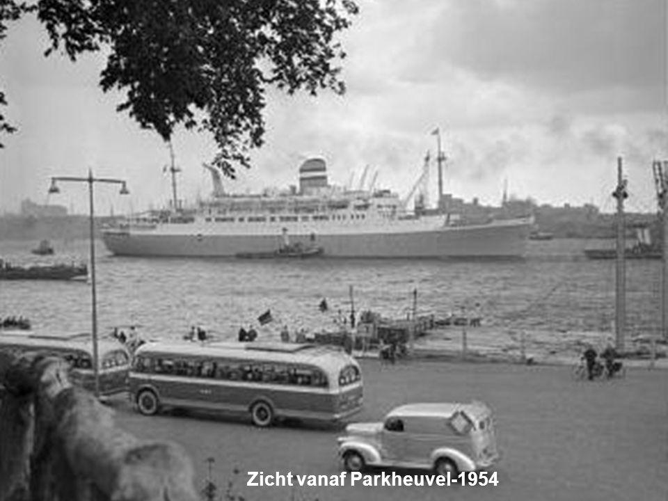 Zicht vanaf Parkheuvel-1954