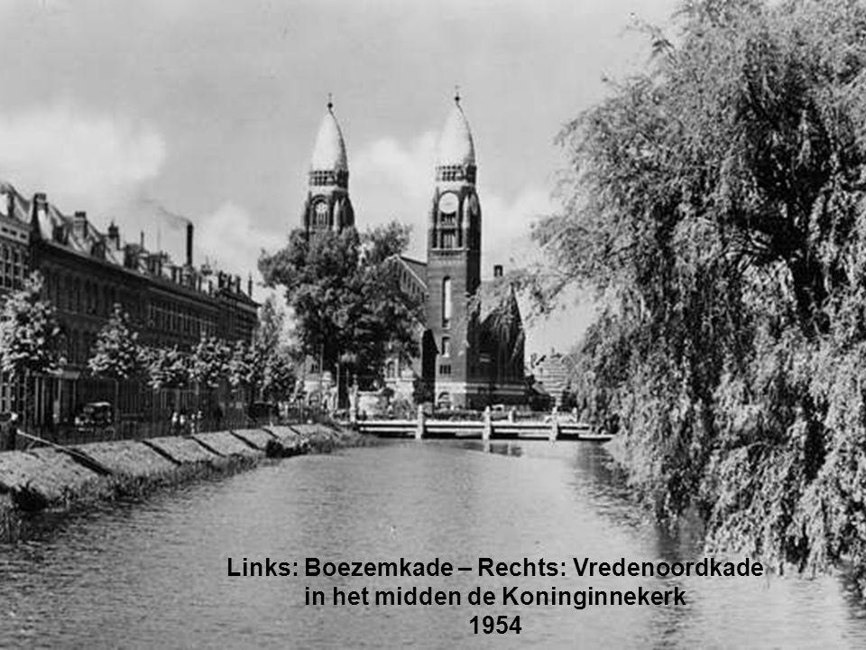 Links: Boezemkade – Rechts: Vredenoordkade