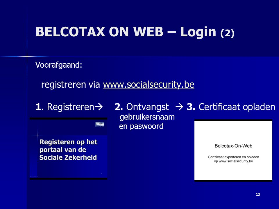 BELCOTAX ON WEB – Login (2)