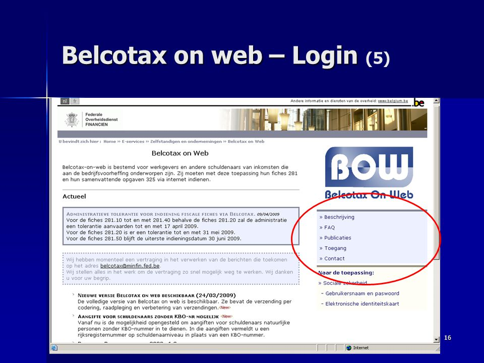 Belcotax on web – Login (5)