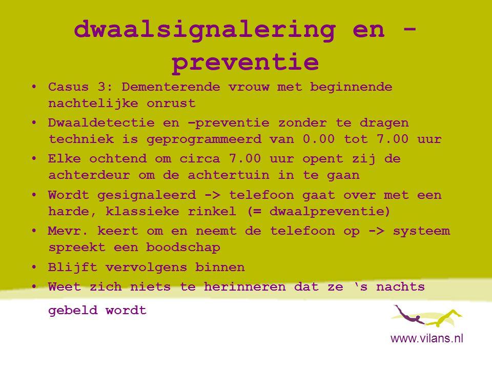 dwaalsignalering en -preventie